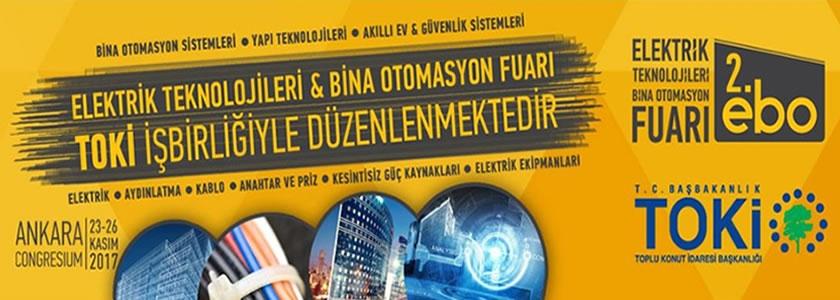 EBO 2017 Fuarı 23-26 Kasım 2017 Ankara'da