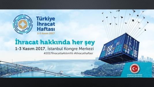 Türkiye İhracat Haftası  1-3 Kasım