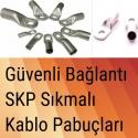 SKP Kablo Pabuçları